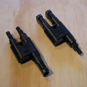 mc4 parallel branch connector pair