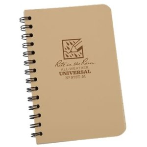 rite in the rain 973t-m mini spiral notebook