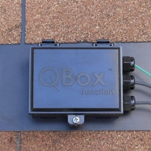 quick mount pv qbox j-box roof