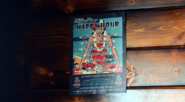 Tiki No Happy Hour