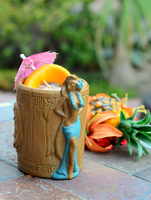 Lapu Lapu, a passionfruit tiki cocktail