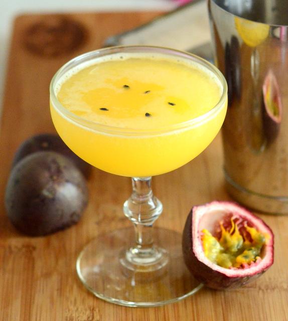 Fresh Passion Fruit Daiquiri