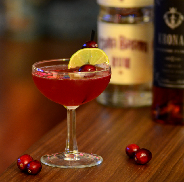 Jul Daiquiri, a holiday rum cocktail