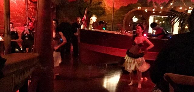 Dancers at Pacific Seas