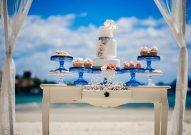 Dessert Bar Treats for a Glitter Wedding Theme