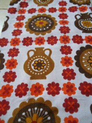 1960s rayon fabric