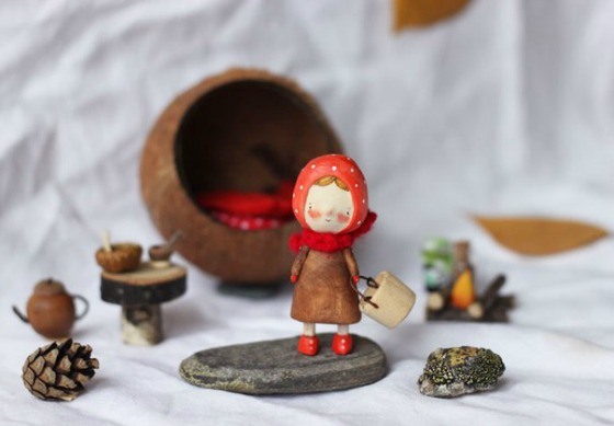 modflowers: wooden toys by Asya Katechkina.