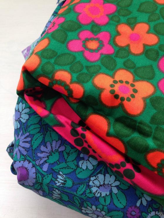 modflowers: vintage fabrics