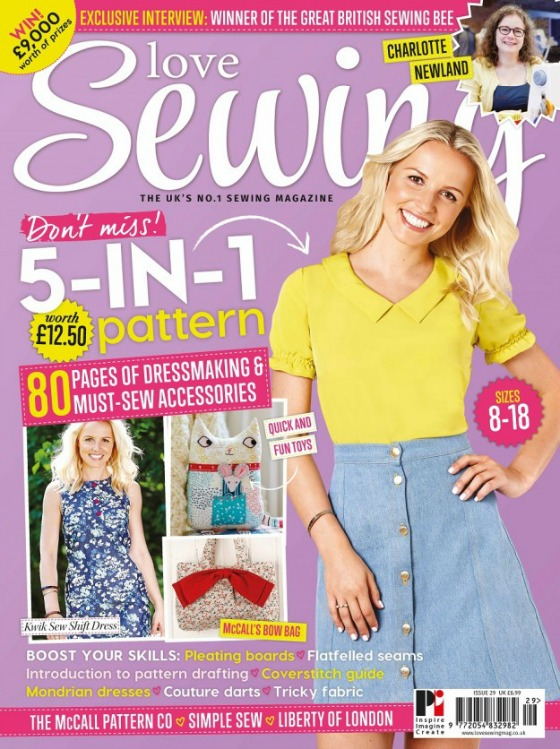 modflowers: my project in Love Sewing Magazine