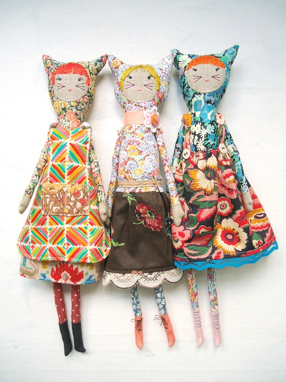 modflowers: handmade dolls finished!