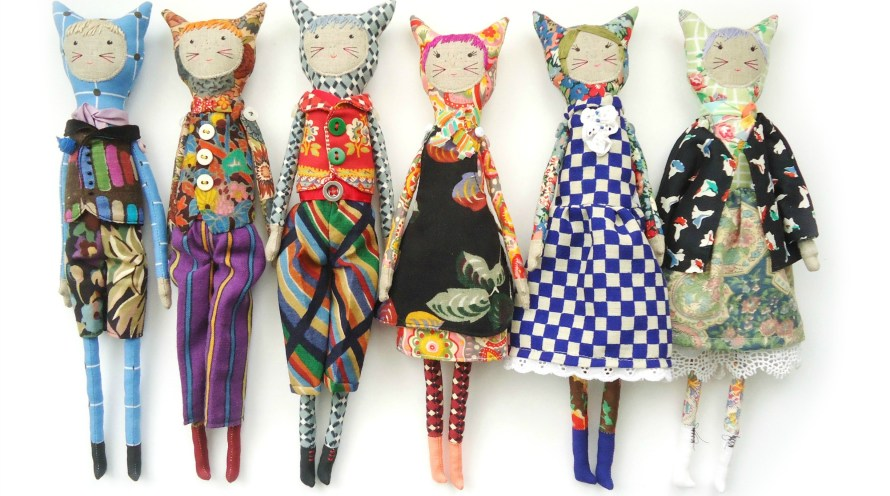 Liberty dolls by modflowers