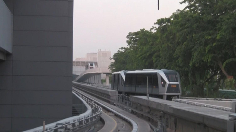 Singapore Airport Tram