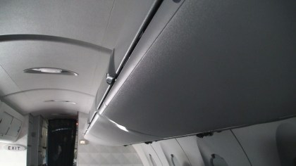 Delta Airlines First Class Luggage overhead