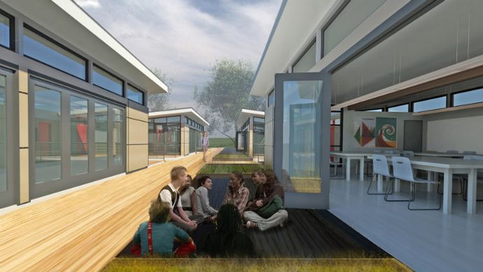 Modular Classroom Trailer ~ Sprout spaces vs cheap classroom trailers