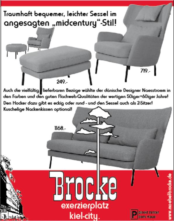 midcentury stil sessel einrichtungshaus brocke skan m bel. Black Bedroom Furniture Sets. Home Design Ideas