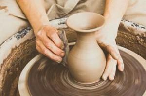 potters hands