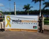 """MAIO AMARELO: DEMUTRAN/MOJU PROMOVE DIA """"D"""" DE CONSCIENTIZAÇÃO NO TRÂNSITO!"""