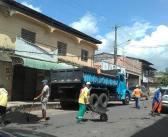 """Operação """"TAPA BURACO"""" revitaliza ruas no centro e diversos bairro de Moju!"""