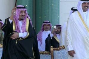 مجلس الوزراء القطري: زيارة خادم الحرمين لقطر عكست عمق المودة والعلاقة بين البلدين