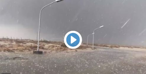 بالفيديو.. هطول أمطار غزيرة على جدة صباح اليوم.. شاهد امطار جدة اليوم