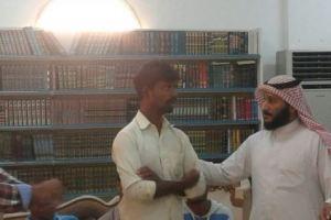 إسلام 9 هنديين بمكتب تعاوني صامطة