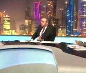 """بالفيديو: فيصل القاسم ينفعل على أحد ضيوفه """"من بيت أبوك يابن الستين ألف صرماية"""""""