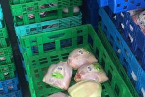 صورة.. ضبط كميات من الدجاج الفاسد في بيشة