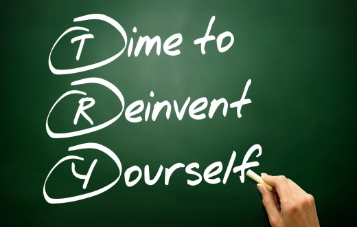 Time to Reinvent Yourself (TRY)