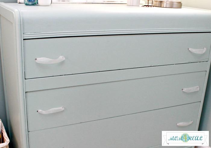 aqua-painted-dresser-ribbon-pulls-handles