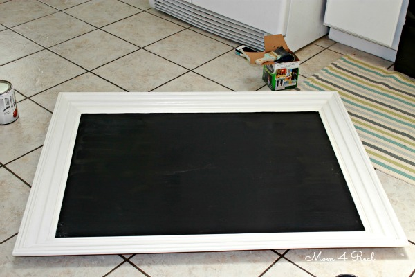 Turn A Mirror Into a Chalkboard the Easy Way