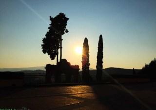 Fonteverde tramonto rovine medicee