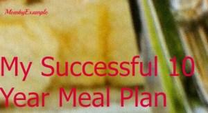 10 year meal plan