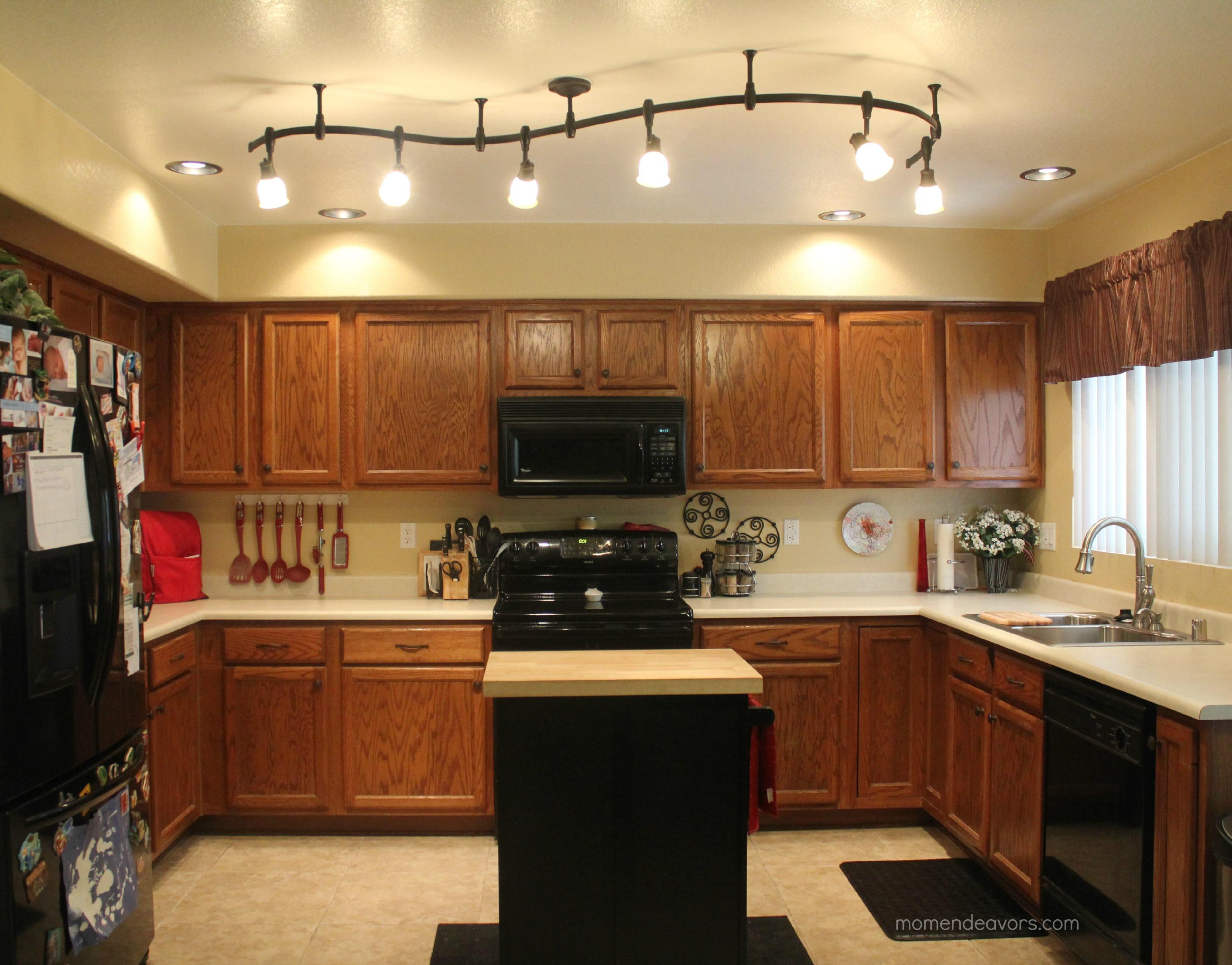 mini kitchen remodel kitchen lighting Now