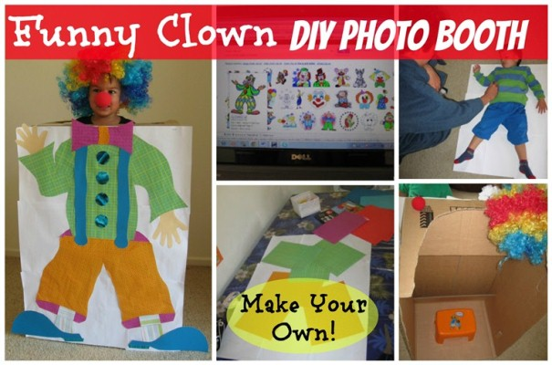clown photo booth