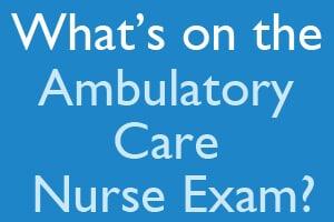 how to become an ambulatory nurse