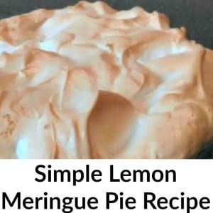 """Lemon Meringue Pie Recipe Promise (Dessert A Day """"Til Christmas – Day 5)"""