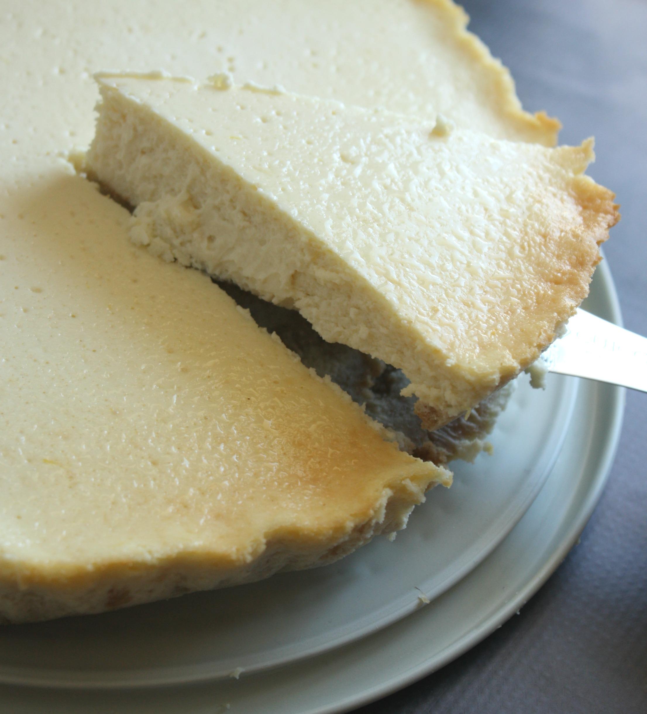 Yogurt Cheesecake with Blueberries