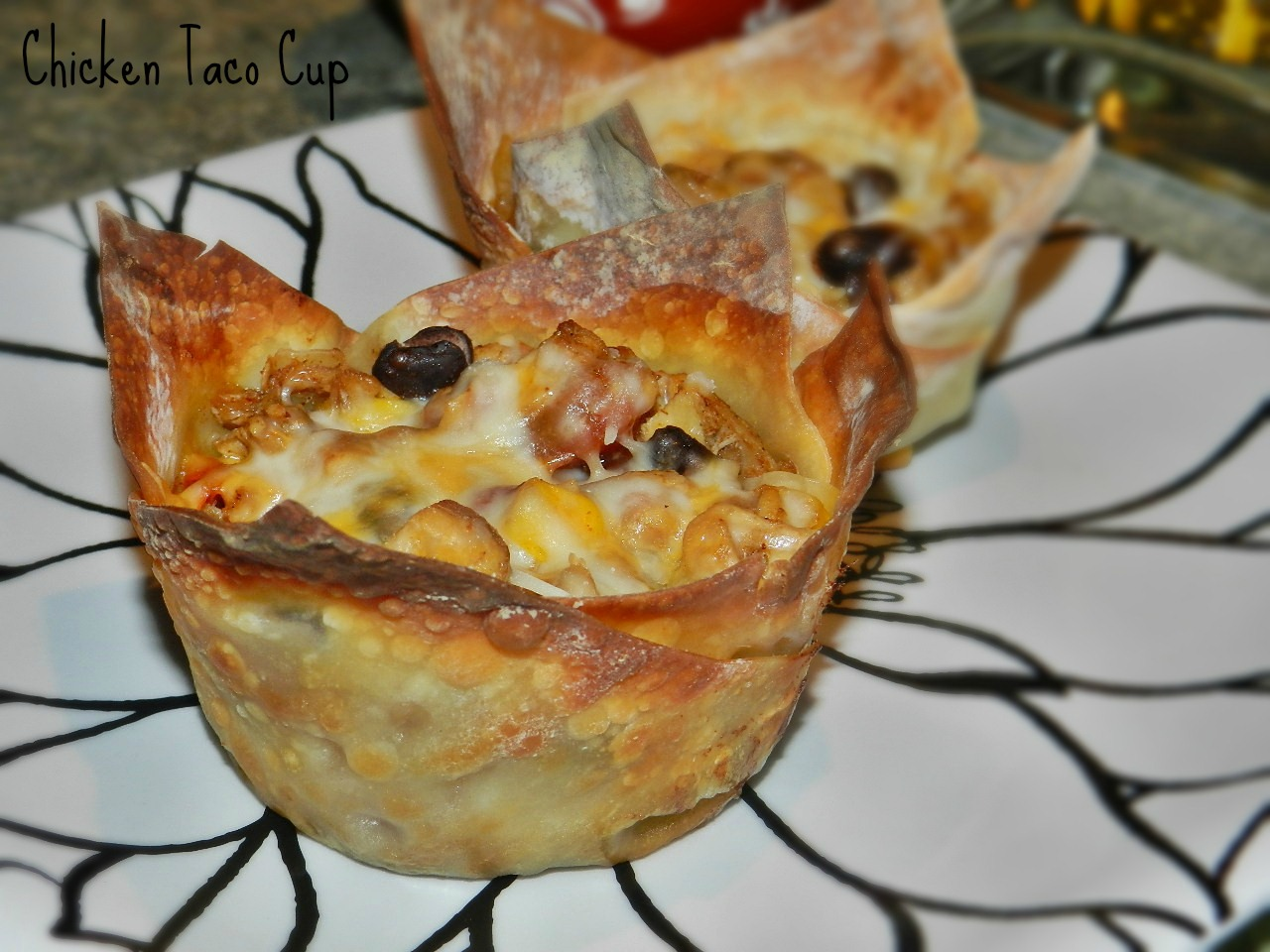 Chicken Taco Cups (7)