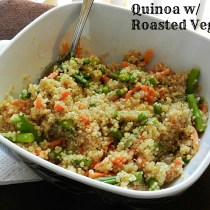Vegetable Quinoa (3)