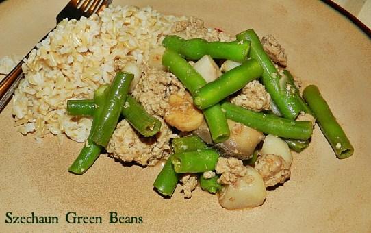 Szechuan Green Beans &  (8)