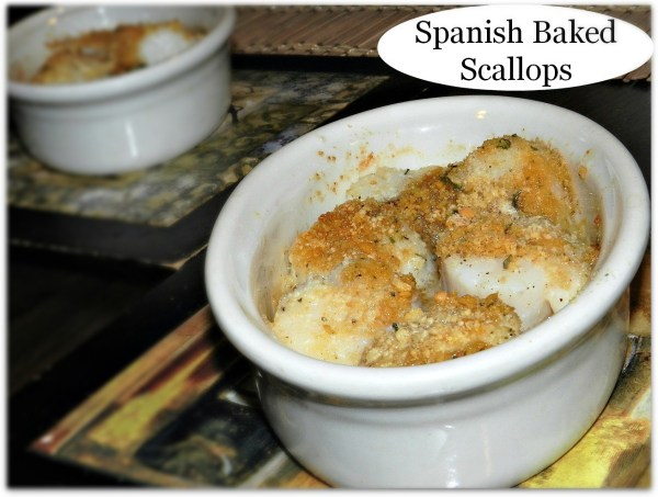 Baked Spanish Scallops