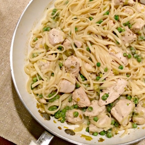 Lemon Pepper Chicken and Pasta for #WeekdaySupper - Momma's Meals