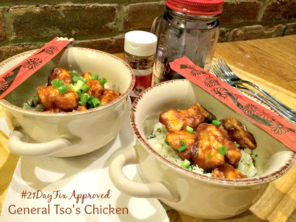 21 Day General Tso's Chicken FB