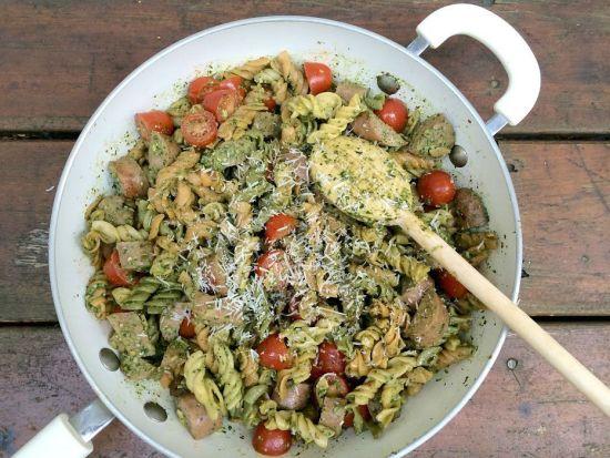 Chicken & Pesto Skillet Dinner P