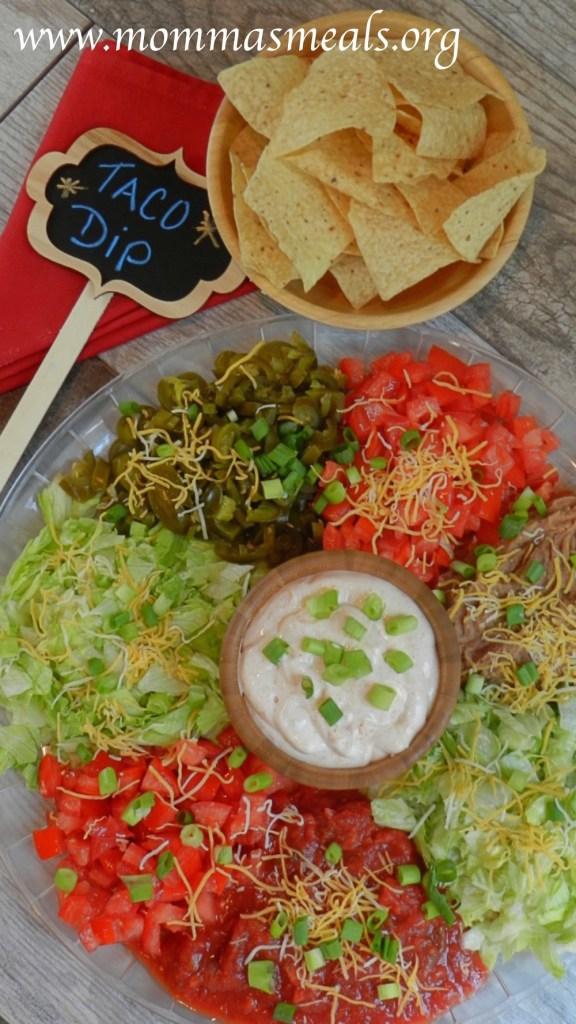Ultimate Taco Dip P