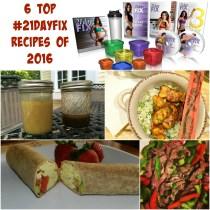 Top 21 Day Fix Recipes