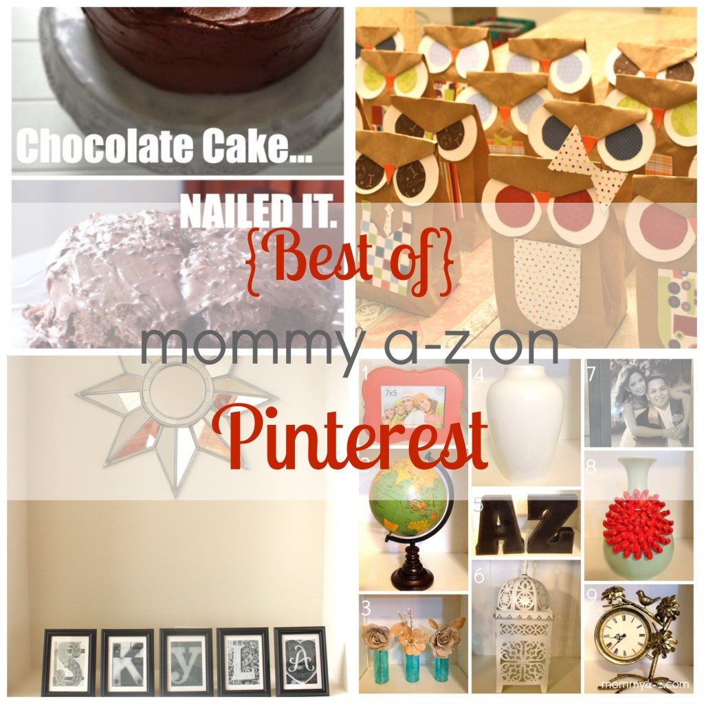 {Best of} Mommy A-Z on Pinterest