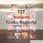 How to Make Instagram Photo Magnets