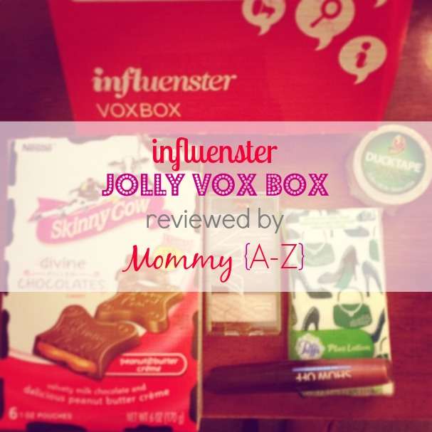 {Review} Influenster Jolly Vox Box