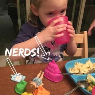 Margaret calling toys nerds